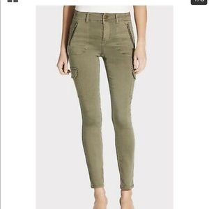 Anthropologie Level 99 Brooklyn Skinny Cargo Pants